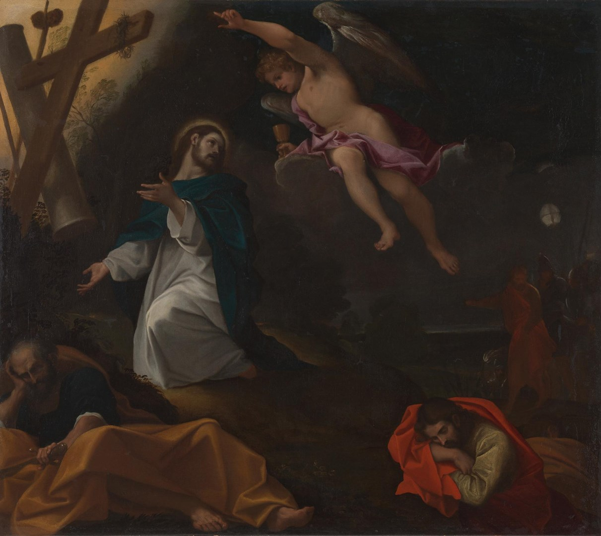 The Agony in the Garden by Ludovico Carracci