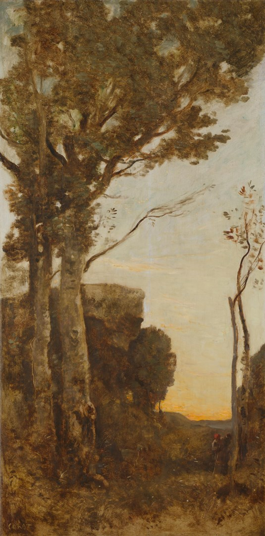 The Four Times of Day: Morning by Jean-Baptiste-Camille Corot