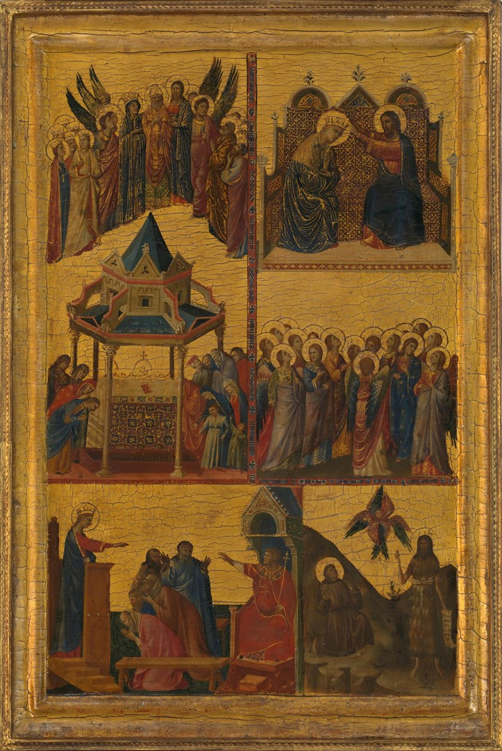 Scenes from the Lives of the Virgin and other Saints by Giovanni da Rimini