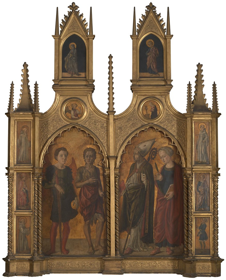 Pratovecchio Altarpiece by Probably by Jacopo di Antonio (Master of Pratovecchio?)