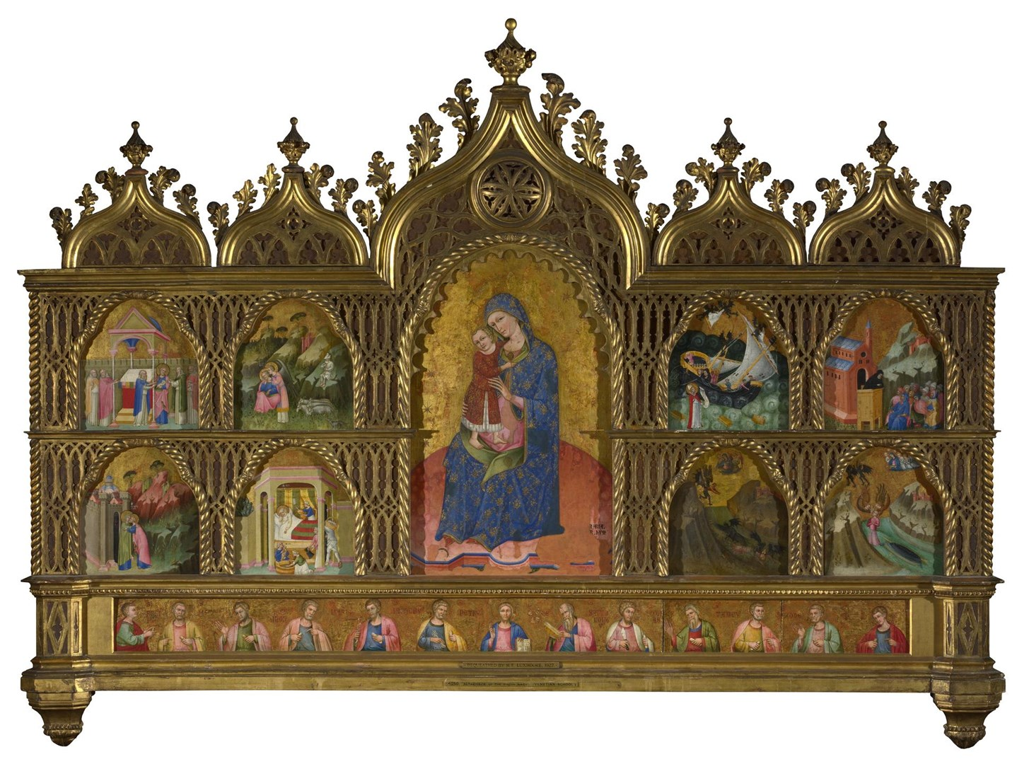 Altarpiece of the Virgin Mary by Dalmatian/Venetian