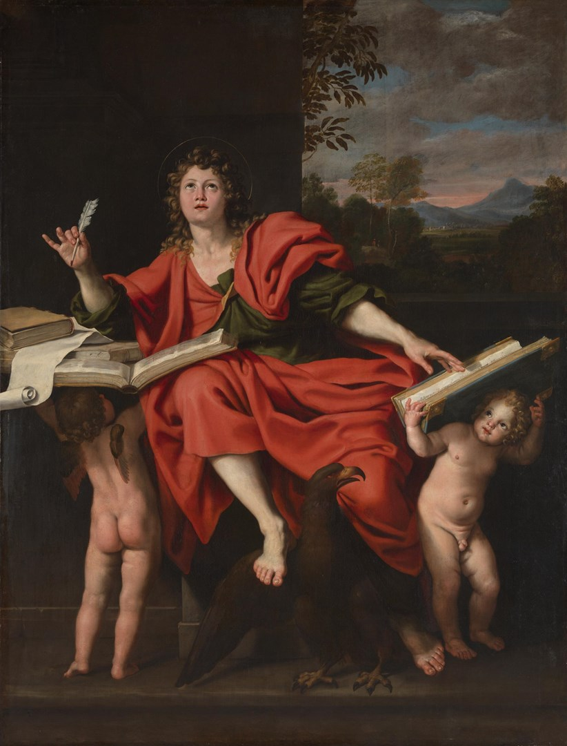 Saint John the Evangelist by Domenichino