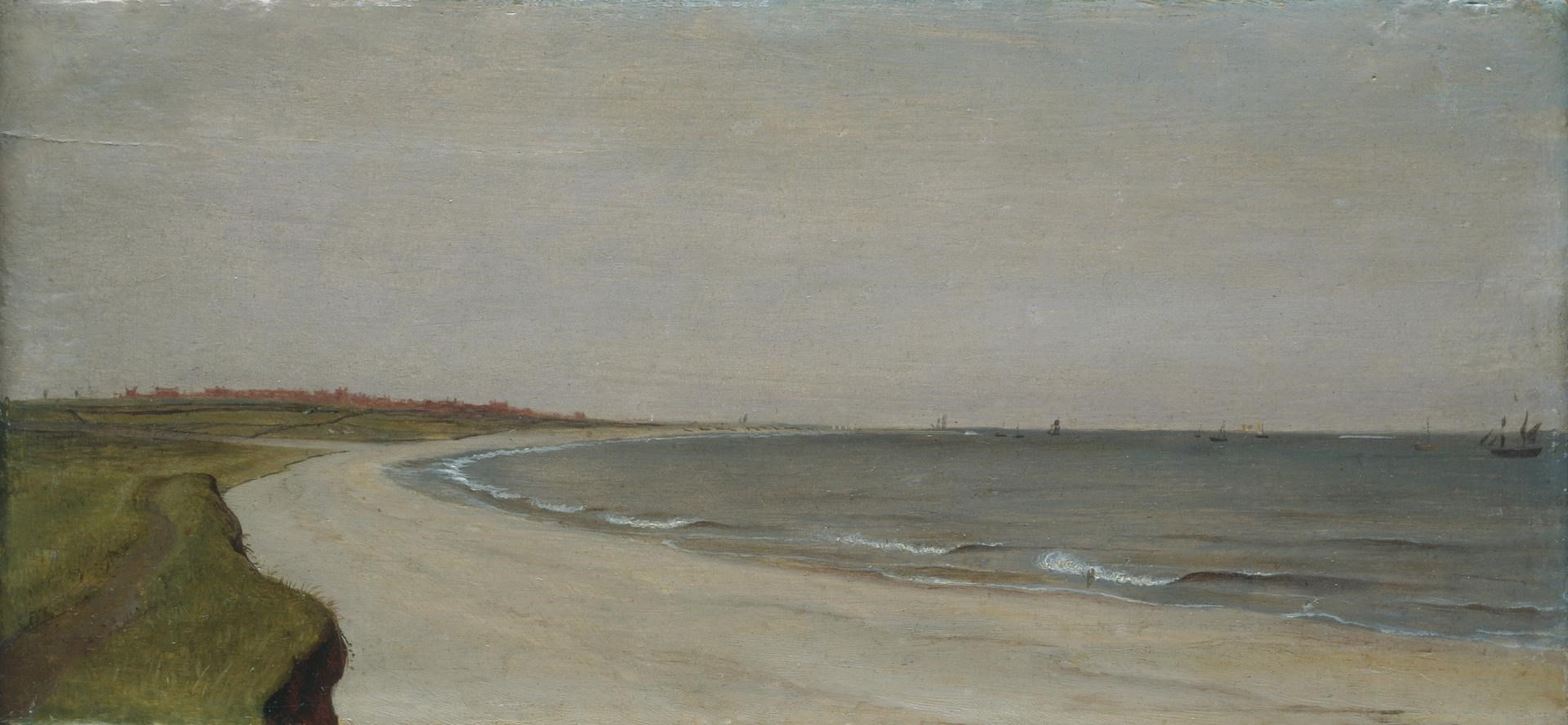 Distant View of Lowestoft from the South by Thomas Kerrich