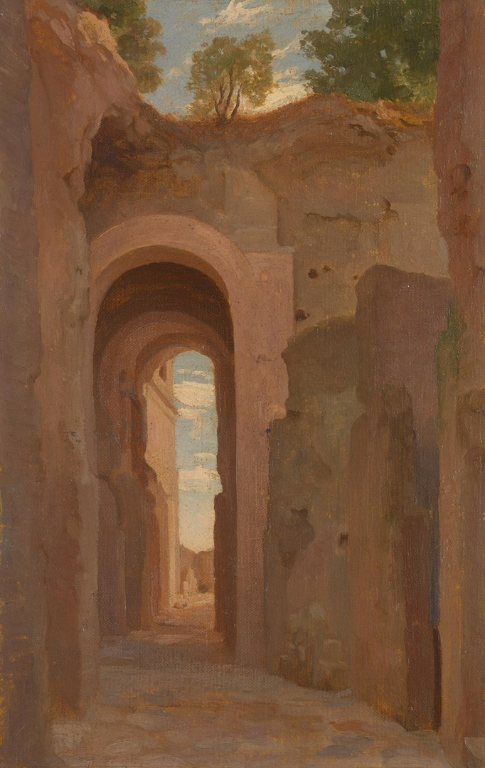 Archway on the Palatine by Frederic, Lord Leighton