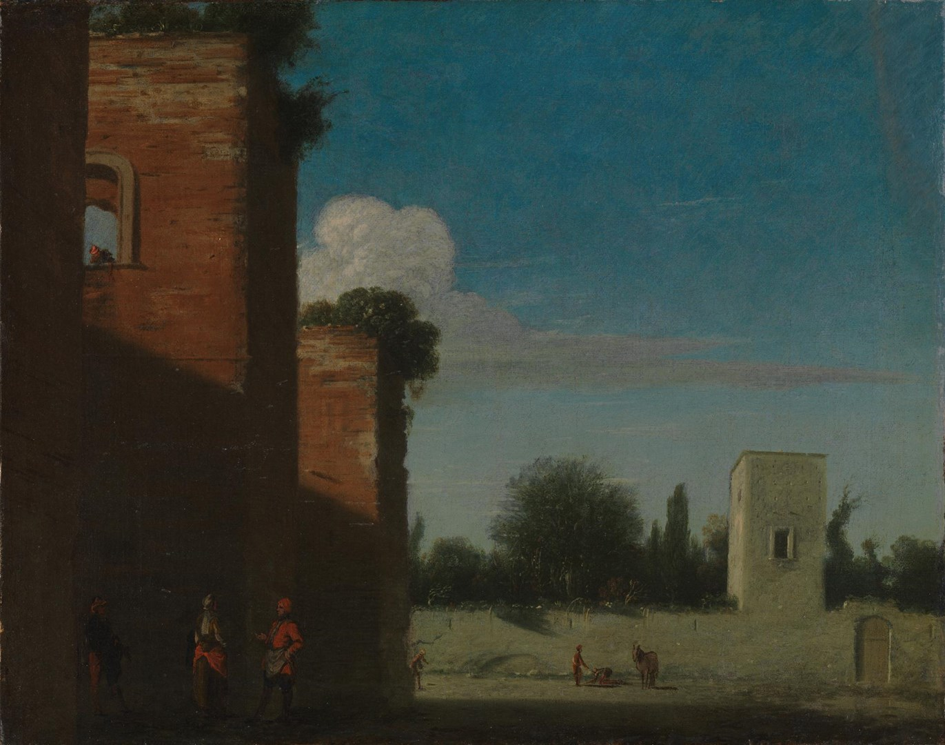 The Walls of Rome by Goffredo Wals