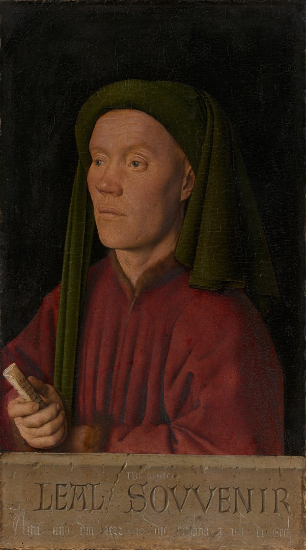 Portrait of a Man ('Léal Souvenir') by Jan van Eyck