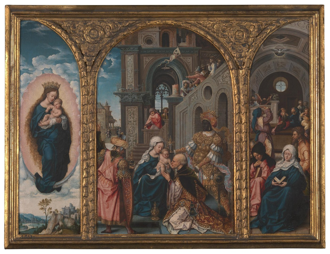 The Adoration of the Kings by Circle of Jan Gossaert (Jean Gossart)