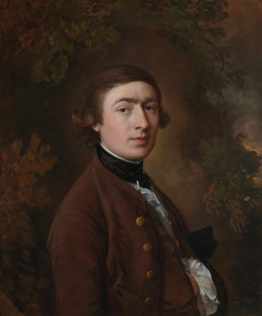 Self portrait by Thomas Gainsborough