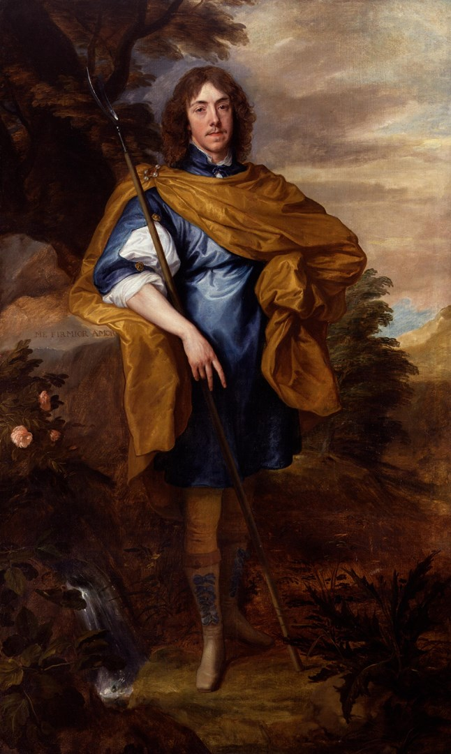 Portrait of Lord George Stuart, 9th Seigneur of Aubigny by Anthony van Dyck
