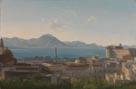 Alexandre-Hyacinthe Dunouy: 'Panoramic View of the Bay of Naples'