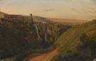 Antoine-Victor-Edmond-Madeleine Joinville: 'A Distant View of Tivoli'