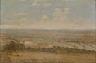 Thomas Jones: 'Landscape with a Distant View of the Sea (Italy)'