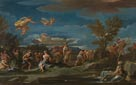 Luca Giordano: 'Mythological Scene of Agriculture'
