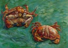 Vincent van Gogh: 'Two Crabs'