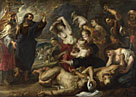 Peter Paul Rubens: 'The Brazen Serpent'