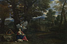 Pier Francesco Mola: 'The Rest on the Flight into Egypt'