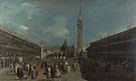 Francesco Guardi: 'Venice: Piazza San Marco'