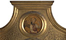 Attributed to Jacopo di Antonio (Master of Pratovecchio?): 'Gabriel: Frame Roundel (left)'