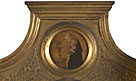 Attributed to Jacopo di Antonio (Master of Pratovecchio?): 'The Annunciate Virgin: Frame Roundel (right)'