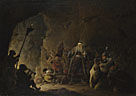 David Teniers the Younger: 'The Rich Man being led to Hell'