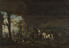 Philips Wouwermans: 'The Interior of a Stable'