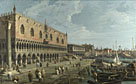 Canaletto: 'Venice: The Doge's Palace and the Riva degli Schiavoni'