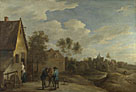 David Teniers the Younger: 'A View of a Village'