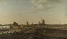 Attributed to Willem van Drielenburgh: 'A Landscape with a View of Dordrecht'