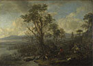 Philips Wouwermans: 'A Stag Hunt'