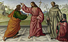 Giovanni Battista da Faenza: 'The Incredulity of Saint Thomas'