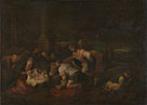 Follower of Jacopo Bassano: 'The Adoration of the Shepherds'