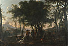 After Salvator Rosa: 'The Philosophers' Wood'