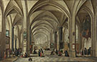 Hendrick van Steenwyck the Younger: 'The Interior of a Gothic Church looking East'