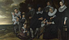Frans Hals: 'A Family Group in a Landscape'