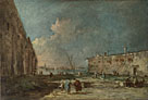Francesco Guardi: 'A View near Venice (?)'
