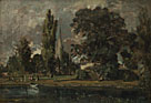 John Constable: 'Salisbury Cathedral and Leadenhall from the River Avon'