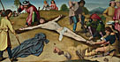 Gerard David: 'Christ Nailed to the Cross'