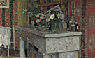 Edouard Vuillard: 'The Mantelpiece (La Cheminée)'