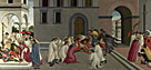 Sandro Botticelli: 'Three Miracles of Saint Zenobius'