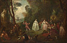 Imitator of Jean-Baptiste Pater: 'The Dance'