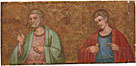 Dalmatian: 'Two Apostles: Fragment of Predella'