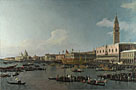 Canaletto: 'Venice: The Basin of San Marco on Ascension Day'