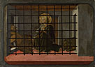 Fra Filippo Lippi and workshop: 'Saint Mamas in Prison thrown to the Lions'