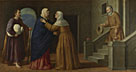 French or North Italian: 'The Visitation'