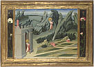 Giovanni di Paolo: 'Saint John the Baptist retiring to the Desert'