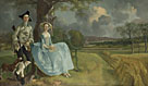 Thomas Gainsborough: 'Mr and Mrs Andrews'