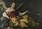 Bernardo Strozzi: 'A Personification of Fame'