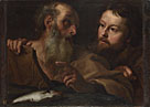 Gian Lorenzo Bernini: 'Saints Andrew and Thomas'