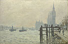 Claude-Oscar Monet: 'The Thames below Westminster'