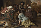 Jan Steen: 'The Effects of Intemperance'